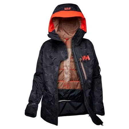 Kurtka damska HELLY HANSEN POWDERQUEEN 2.0 GRAPHIC